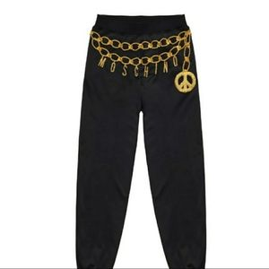 H&M Moschino Joggers with applique